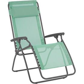 Lafuma Mobilier R Clip Chaise longue avec Cannage Phifertex, menthol